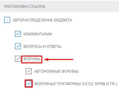 Размещение ссылок на форумных платформах